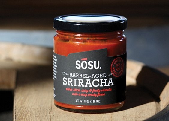 Sosu Sriracha - Fermented Hot Sauce In Whiskey Barrels