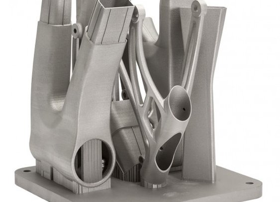 World's first 3D-printed titanium bicycle frame could lead to cheaper, lighter bikes