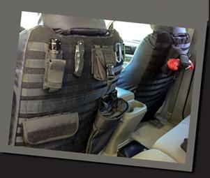 Tactical Custom Seat Covers