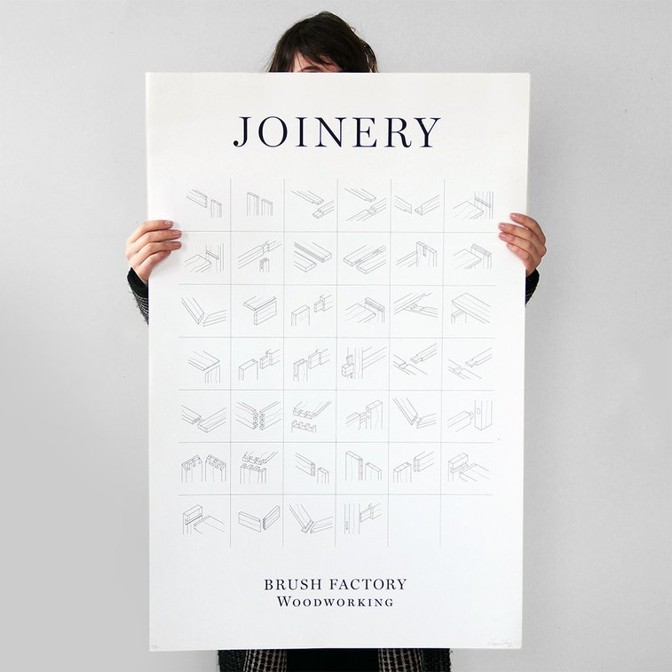 Joinery Poster | Brighton Exchange – Contemporary Furniture Design