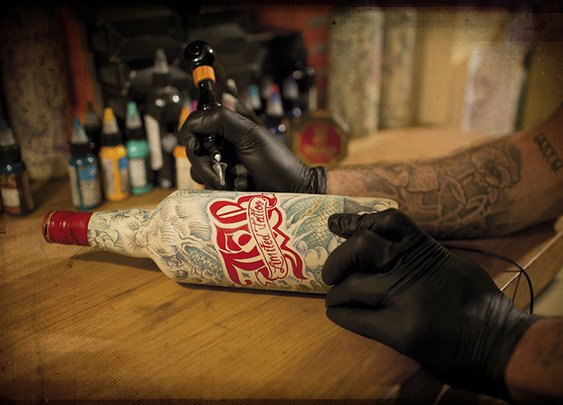 J&B Tattooed Whisky | The Coolector