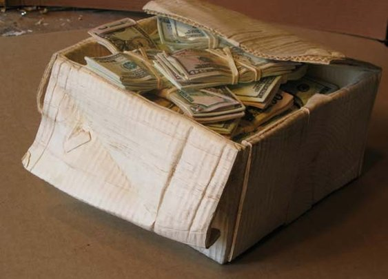 Randall Rosenthal Carves an Illusion Out of Wood - Old Money