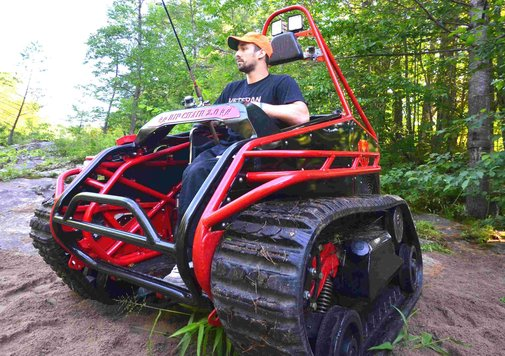 Extreme Offroad Wheelchair