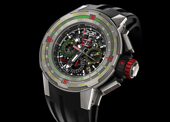 Richard Mille Regatta Flyback Chronograph Watch | The Coolector
