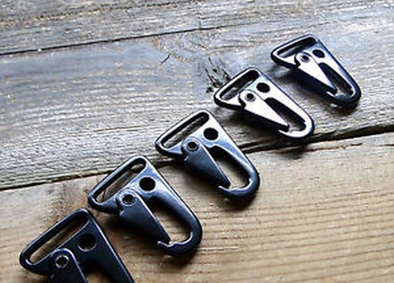 HK Style Hooks for Rifle Slings