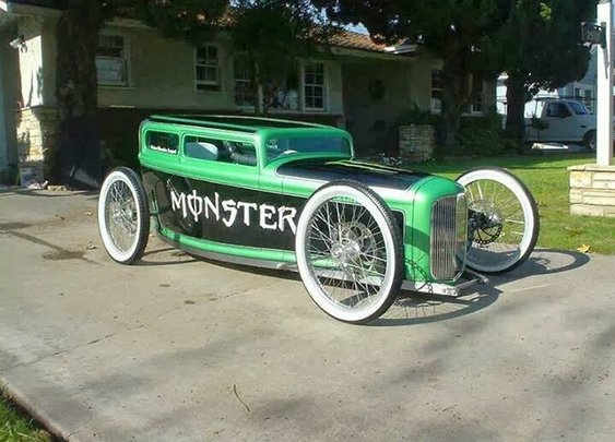 Cool looking Hot Rod