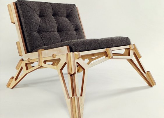 Spaceframe Furniture Collection Design by Gustav Dusing