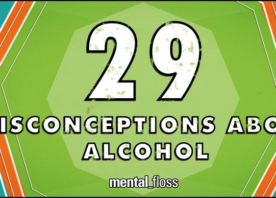 29 Misconceptions About Alcohol - mental_floss on YouTube (Ep.45) - YouTube