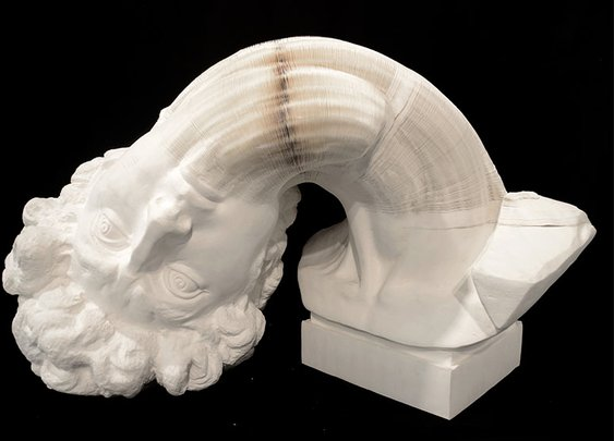 New Flexible Paper Sculptures by Li Hongbo | Colossal