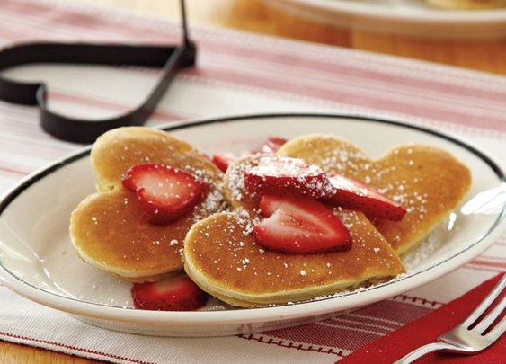 Nonstick Heart Pancake Egg Rings