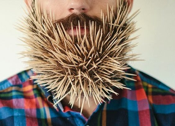 BEARD ART BY PIERCE THIOT