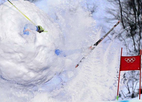 Growing Ball Of Snow, Outstretched Limbs Barreling Down Slopes Wins Silver | The Onion - America's Finest News Source