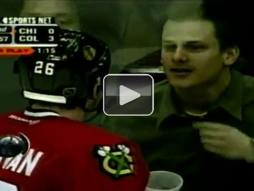 Hockey Fan Gets Owned by Puck (Video) : theCHIVE