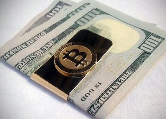 Bitcoin Money Clip