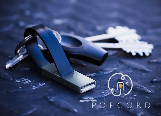 popcord™: unforgettable keyring charger - iPhone & micro usb by Powergoat — Kickstarter