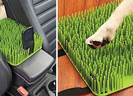 Auto Grass Barrier For Pets | Gear | CoolPile.com