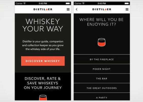 The Distiller App Is Your New Whiskey Sidekick | Cool Material