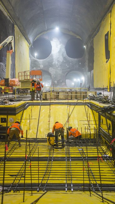 The Cave of the 2nd Ave Subway Taking Shape Beneath Manhattan