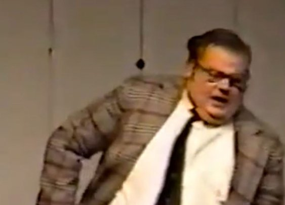Matt Foley lived in a van down by the river long before SNL