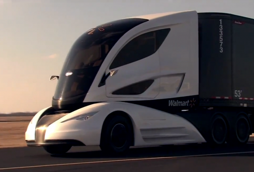 See the Futuristic Concept Truck Walmart Wants to Use to Maximize Efficiency on the Road   TheBlaze.com