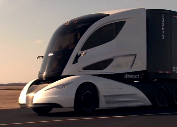 See the Futuristic Concept Truck Walmart Wants to Use to Maximize Efficiency on the Road | TheBlaze.com