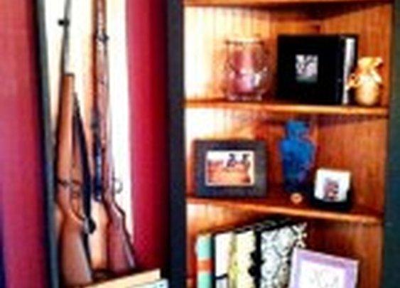 Gun Concealment Corner Bookshelf | StashVault