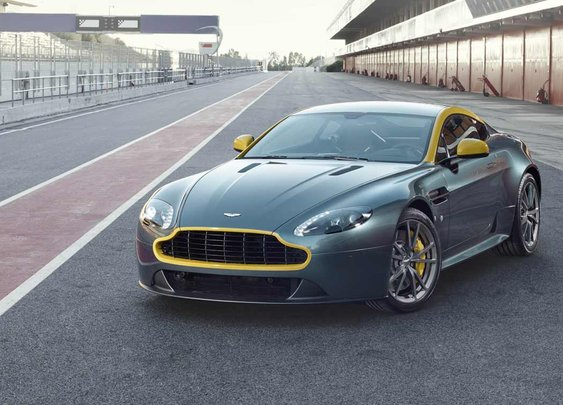 Aston Martin is giving us a preview of the upcoming Aston Martin V8 Vantage N430