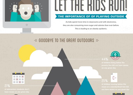 Let the Kids Run! The Importance of Playing Outside