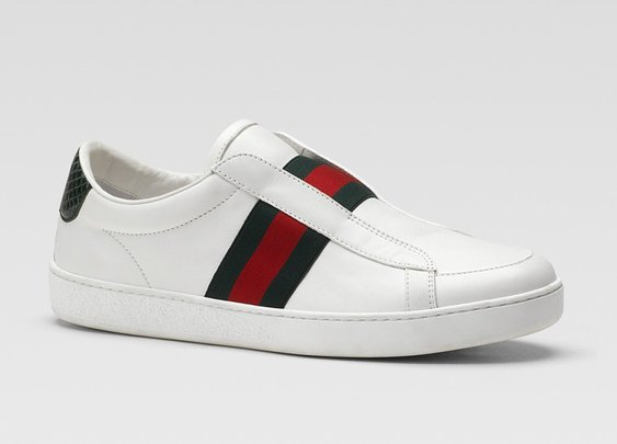 This Spring's Beach Parties Demand Some Gucci White Sneakers
