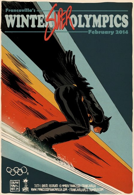 If the Winter Olympics included Superheroes