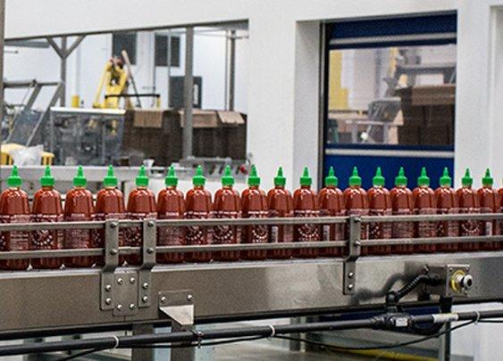 A Look Inside the Sriracha Factory