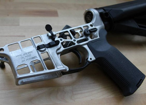 Aero Precision's Skeletonized AR Lower