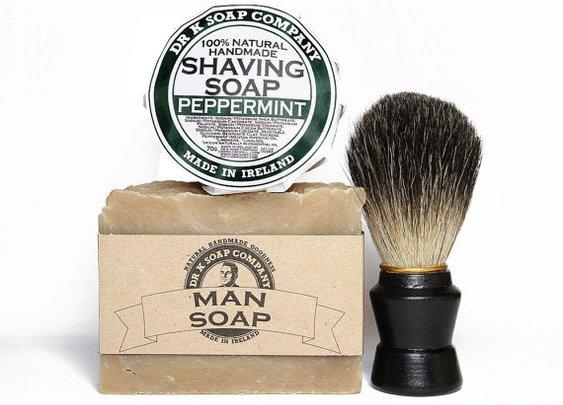 Shave like James Bond Shaving Set For Him by drksoapcompany