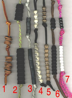 Pace counting with Army Ranger pace counting beads