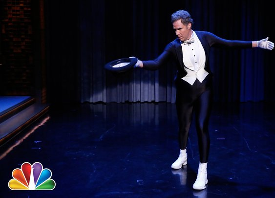 Will Ferrell Figure Skates to the Downton Abbey Theme