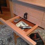Gun Concealment End Table | StashVault