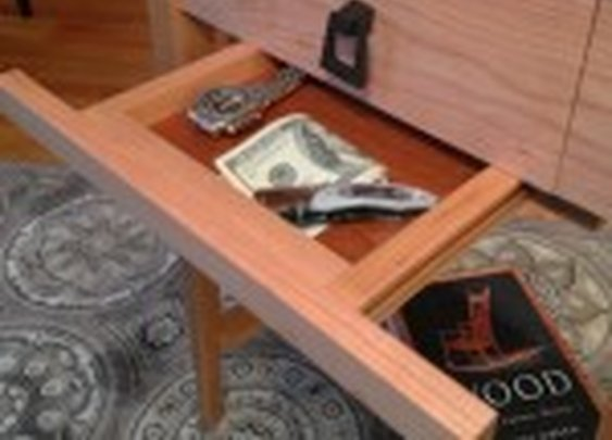 Gun Concealment End Table | StashVault