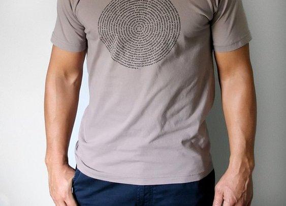 Mens T Shirt  Organic Brown  Animal Group Nouns Men by Xenotees