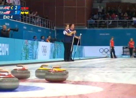 David Attenborough's alternative curling commentary. [VIDEO]