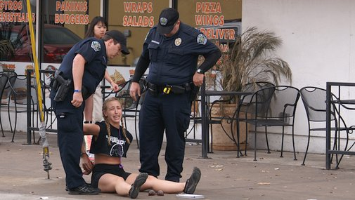 "APD Explanation summary: ""At least they didn't rape her."""