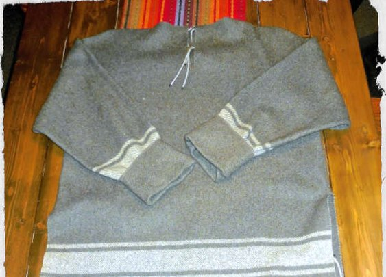 How To Make An Awesome Shirt From A Wool Blanket - SHTF Preparedness