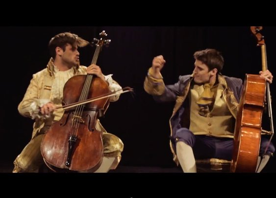 Awesome cello cover of AC/DC's Thunderstruck