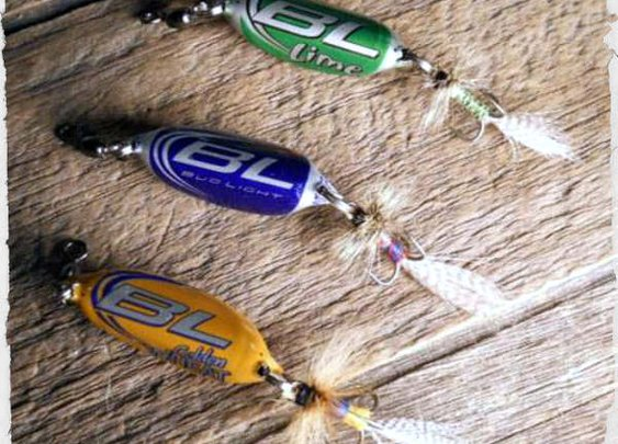 DIY Beer Bottle Cap Fishing Lures - SHTF Preparedness