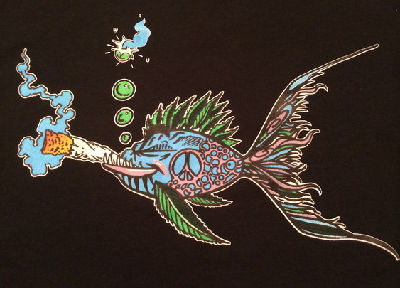 The Original Bud Fish T Shirt