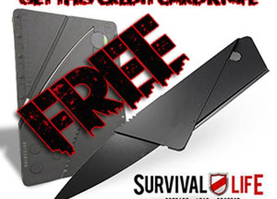 Credit Card Knife: The Ultimate Concealed Carry Tool? (Get Yours Free)