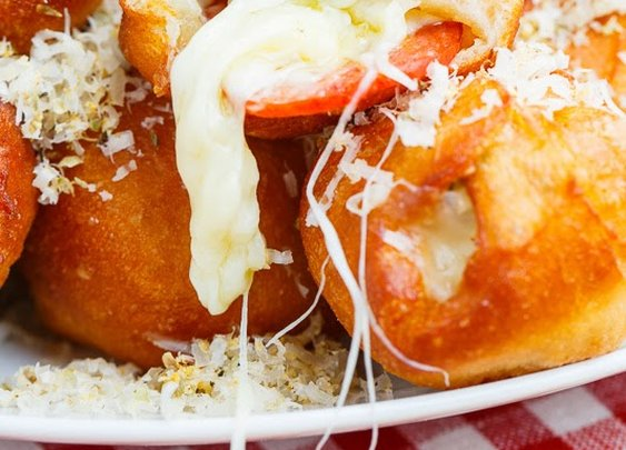 Closet Cooking: Pizza Poppers