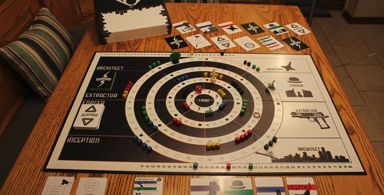 The Unofficial 'Inception' Board Game Will Blow Your Mind