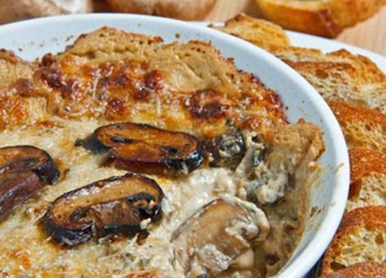 Closet Cooking: Hot Cheesy Mushroom Dip