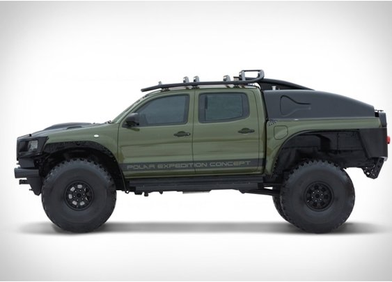 TOYOTA TACOMA POLAR EXPEDITION TRUCK