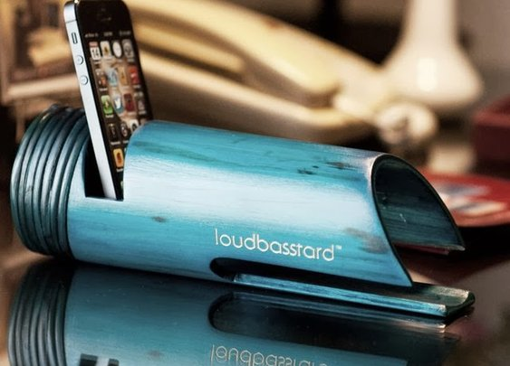 LOUDBASSTARD BAMBOO AMPLIFIER